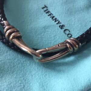 Tiffany & Co. Jewelry - Tiffany & Co. leather bracelet
